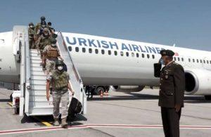 Kabil Havalimanı'ndan tahliyeler sürüyor: İkinci TSK kafilesi Ankara'da