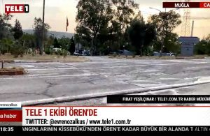 Yeniköy Termik Santrali'nde önlemler bu sefer yoğun! TELE1 ekibi aktarıyor