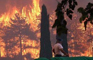 Yangın felaketinde 8. gün: 7 ilde 16 yangın devam ediyor, 10 mahalle tahliye edildi