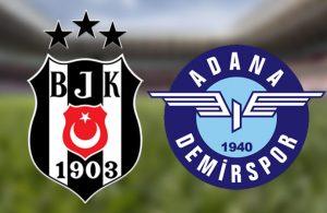 Son dakikalar nefes kesti! Beşiktaş, Adana Demirspor karşısında skoru koruyamadı!