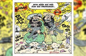 LeMan'ın 'Taliban' kapağı dikkat çekti