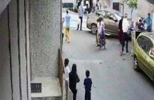 Şişli'de korkunç kaza: Çöp atan kişiye araba çarptı