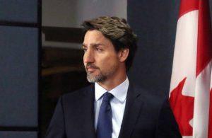 Trudeau eşine hakaret eden protestocuya bağırdı
