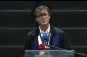 İTÜ birincisinden ders gibi mezuniyet konuşması: Yozlaşmış bu sistemi değiştireceğiz