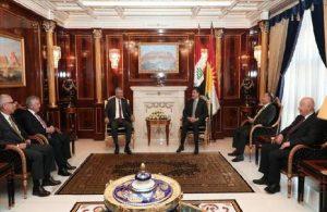 Salıcı: Erbil ziyareti izlenimlerimizi Dışişleri Bakanlığı'na aktaracağız