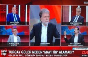 CNN Türk her şeyi bıraktı Turgay Güler'in mavi tıkını konuştu