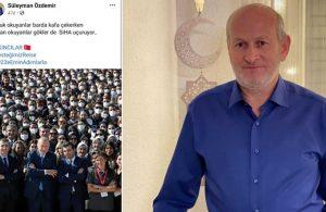 AKP'li Başkan: Nutuk okuyanlar barda kafa çekerken, Kur'an okuyanlar göklerde SİHA uçuruyor