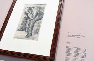 Van Gogh'un yeni keşfedilen çizimi ilk kez sergilendi