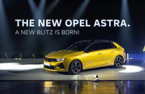 Yeni Opel Astra tanıtıldı