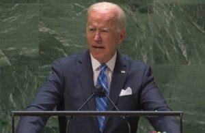 BM Genel Kurulu başladı! Biden en çok bu konu üzerinde durdu