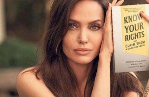 Angelina Jolie'den, Af Örgütü iş birliğiyle 'çocuk hakları' kitabı