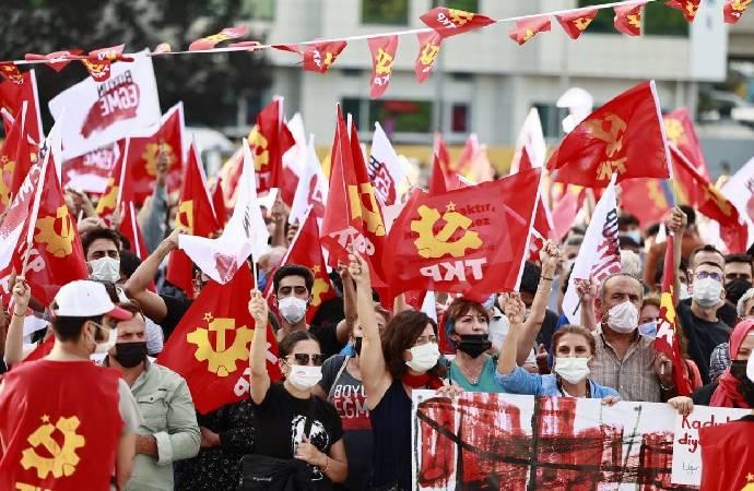 TKP Kartal'da miting düzenledi: Şimdi sosyalizm zamanı - Tele1