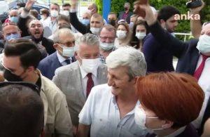 Trabzon'da 'Cumhurbaşkanı Meral Akşener' sloganıyla karşılandı
