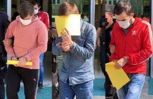 Samsun'da üç bekçi uyuşturucudan gözaltına alındı
