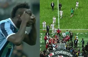 Balotelli'nin hareketi sahayı karıştırdı! Maç bitti, kavga çıktı