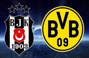 Beşiktaş'a Dortmund maçı öncesi şok!