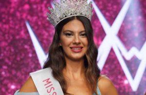Miss Turkey 2021 birincisi seçilen Korkmaz'dan 'torpil' iddialarına yanıt