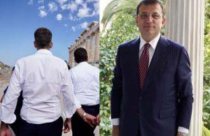 İmamoğlu'ndan Yunanistan'da dikkat çeken kare