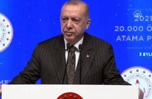 Erdoğan: Avrupa'da öğretmen maaşlarını en çok iyileştiren ülke Türkiye