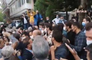 HDP Genel Merkezi önünde gerginlik