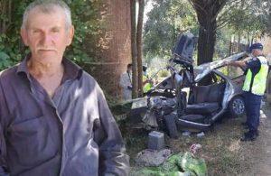 Taziyeye giderken kaza yaptı: 1 ölü, 3 yaralı
