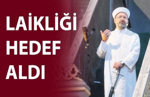 Ali Erbaş'tan 'dua ile açılış' eleştirilerine yanıt