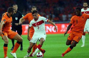 A Milli Futbol Takımı Hollanda'ya 6-1 mağlup oldu