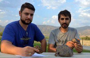 Kır gezisi yapan iki arkadaş meteor buldu