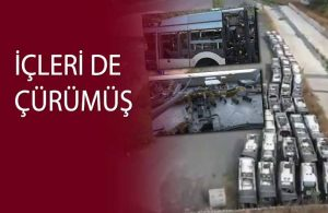 Bir AKP eseri: Metrobüs mezarlığı