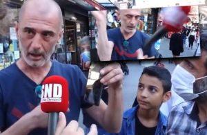 Doğalgaz zammını soran muhabire saldırı