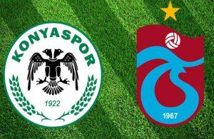 Trabzonspor, Konya'da 2 puan bıraktı!
