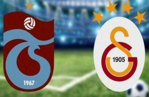 Trabzonspor – Galatasaray derbisinde 4 gol var kazanan yok!