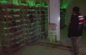 Mühürlenen fabrikada kripto para üretimi yaparken yakalandı