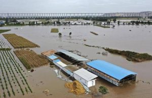 Çin'de 2 milyon kişi yerinden oldu