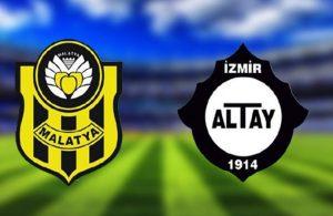 Yeni Malatyaspor evinde Altay'a geçit vermedi!