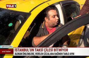 Yolcu almayan taksicinin savunması pes dedirtti