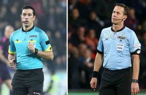 Ali Palabıyık ve Halis Özkahya'ya UEFA'dan görev!